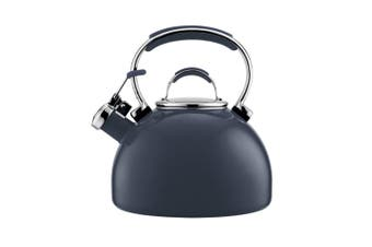 Essteele 1.9L Porcelain Enamel Whistling Kettle for All Stove Top Induction GRY