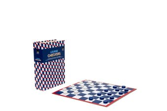 S&P Checkers 31x21cm Fun Strategy Board Game for Kids Children Family 5y+