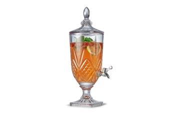 Salt & Pepper Bond 47cm Juice Jar 3L Glass Water Drink Stand w Dispenser Tap