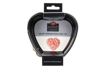 Tala 10cm Non-Stick Heart Shape Springform Baking Cake Tin Pastry Mould Pan Tray