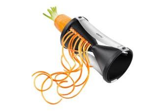 Gefu Spirelli Manual Kitchen Vegetable Pasta Spiral Slicer Maker Veg Cutter BLK