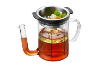Gefu 500ml Fat Separator Jug Oil Pot Jug Cup Dispenser w  Strainer Filter Clear