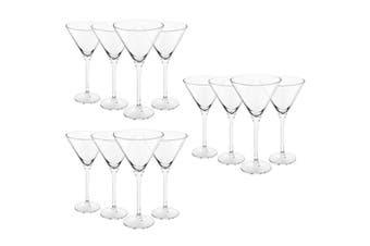 12pc Royal Leerdam 260ml L'Esprit Martini Glasses Margarita Cocktails Drinks Bar