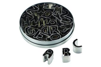 26pc Cake Boss Mini Cutters Cookie Mould Cutter Shape Alphabet Decorating Set SL