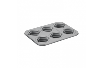 Cake Boss 6 Cup Stacked Non Stick Square Cakelette Pan Mold Oven Baking Tin
