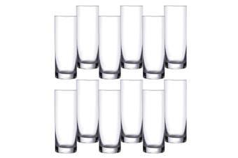 2x 6pc Bohemia Barline 300ml High Ball Juice Drinks Glassware Barware Set