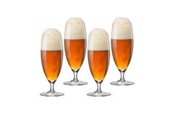 4pc Bohemia 380ml Bar Beer Glass Drink Glassware Barware Set