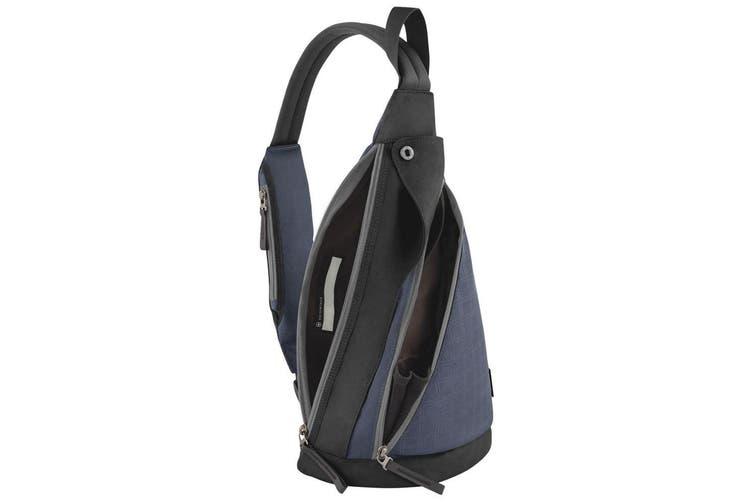 Victorinox Altmont 3.0 Dual Compartment Sling Bag Travel Shoulder Backpack Navy
