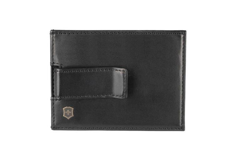 Victorinox Altius Edge Napier Leather Money Clip w  RFID Protection Men's Wallet