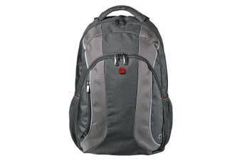 Wenger Swissgear Mercury Rucksack 16 Laptop Carry Bag Backpack Travel GRY BLK