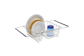 Polder Expandable In-Sink Dish Rack 35cm Stainless Steel Kitchen Cutlery Storage
