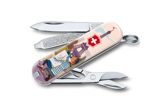 Victorinox Classic Paris City of Love SD Ltd Edition Swiss Army Knife Scissors