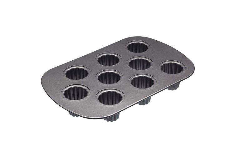 Mastercraft 32.5cm 9-Hole Canele Pan Mould Mold Pastry Baking Desserts Tin Tray