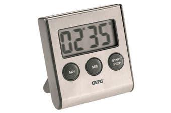 Gefu Contare LCD Digital Timer Countdown 99 Minute Kitchen Cooking Alarm Grey