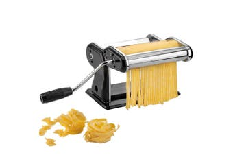 Gefu Pasta Perfetta Nero Lasagne Roller Cutter Stainless Steel Machine Maker BLK