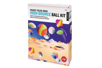 IS Gifts Make Your Own High Bounce Ball Kit Kids Educational Science Toy 6y+