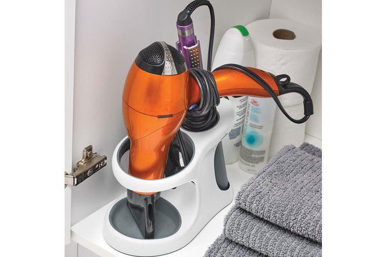 Polder Hair Style Station Stand Holder Storage for Hairdryer Curler Straightener