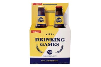 Lagoon Fifty Drinking Games Adults Fun Beer Drink Game Party Activity 18y+
