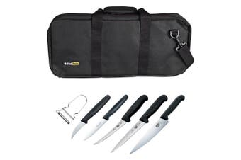 7pc Victorinox 74198 Apprentice Tafe Hospitality Chef Cook Knife Set w Bag