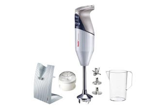 Bamix Swissline 200W Electric Hand Blender Beat Chop Mixer w Jug Stand Processor