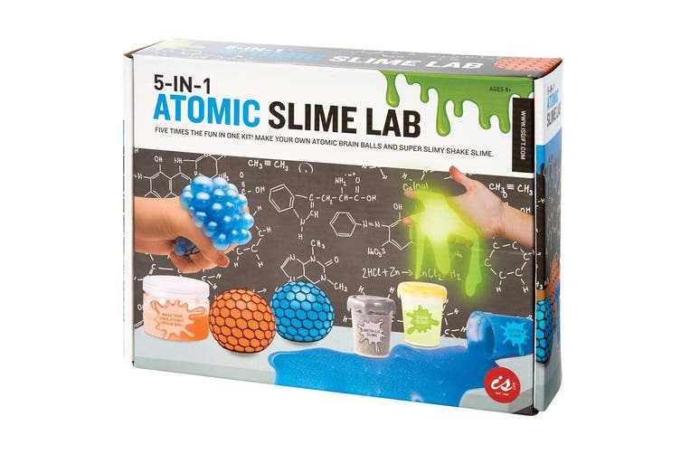 Is Gifts 5-In-1 Atomic Slime Lab Kids Science Experimental Crafts Activity 8y+