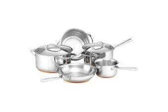5pc Essteele Per Vita Stainless Steel Saucepan Frypan Cookware Set Induction SL