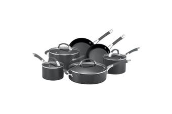 6pc Anolon Endurance+ Hard Anodised Non-Stick Cookware Set Induction Oven Safe