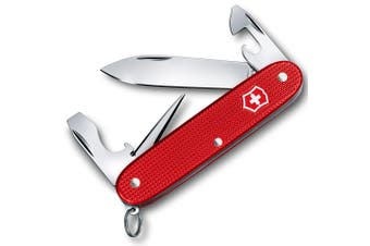 Victorinox Pioneer Alox Ltd Edition Swiss Army Pocket Knife Blade Berry Red