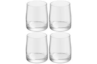 4pc Royal Leerdam Artisan 280ml Whisky Bourbon Liquor Glass Glasses Bar Set