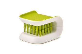 Joseph Joseph Blade Brush Knife Cutlery Cleaner Kitchen Cleaning Scrub Green