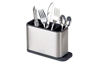 Joseph Joseph Surface Stainless Steel Cutlery Utensil Drainer Holder Organiser