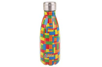 Oasis 350ml Double Wall Insulated Water Drinking Bottle Vacuum Flask  Bricks