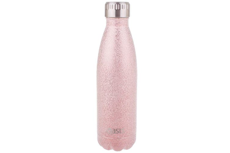 Oasis 500ml Water Thermo Bottle Stainless Steel Cold Hot Drink Shimmer Rose Gold
