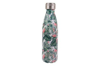 Oasis 500ml Stainless Steel Double Wall Insulated Travel Water Bottle Paradise