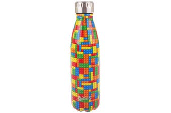 Oasis 500ml Water Thermo Bottle Stainless Steel Cold Hot Drink Building Blocks