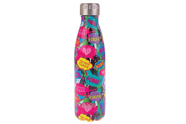 Oasis 500ml Stainless Steel Double Wall Insulated Drink Bottle Cup Youth Culture