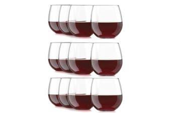12PC Libbey 495ml Vina Stemless Glasses Red White Wine Cocktail Liquor Party Set