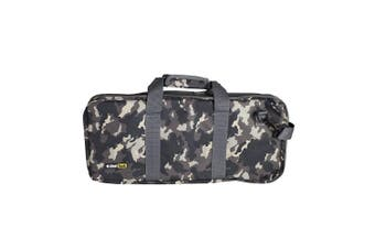 ChefTech 18pc Pocket Chef Knife Knives Roll Hand Shoulder Bag Case w Strap Camo
