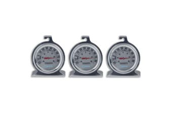 3PK Cuisena Fridge Freezer Celsius Temperature Thermometer Stainless Steel