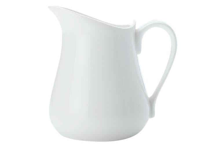 Maxwell Williams White Basics Milk Jug 320ml Porcelain Drink Tea Juice Coffee