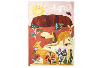 Australiana 50x70cm Outback Australia Kitchen Home Decor Cotton Cloth Tea Towel