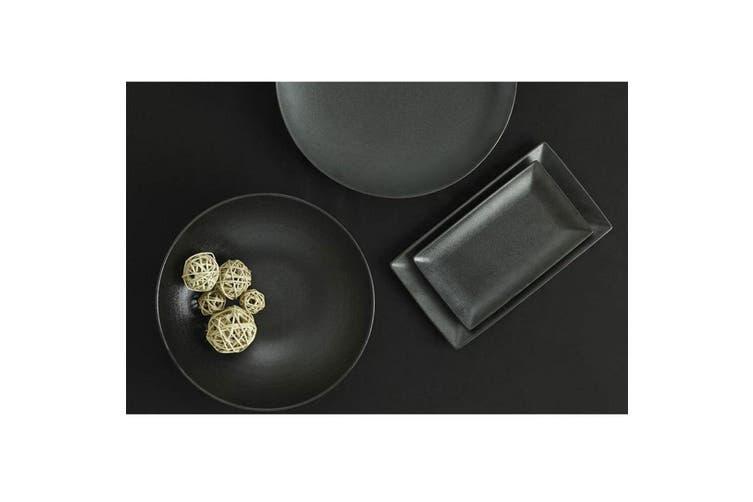Maxwell & Williams 34.5x19.5cm Caviar Rectangle Serving Food Platter Plate Black