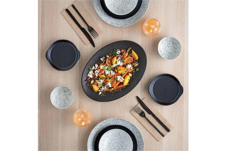 Maxwell & Williams 27.5cmx16cm Caviar Speckle Rectangle Food Serve Platter Cream