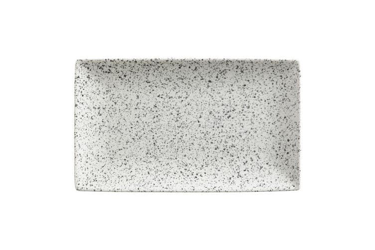 Maxwell & Williams 34.5x19.5cm Caviar Speckle Rectangle Food Serve Platter Cream