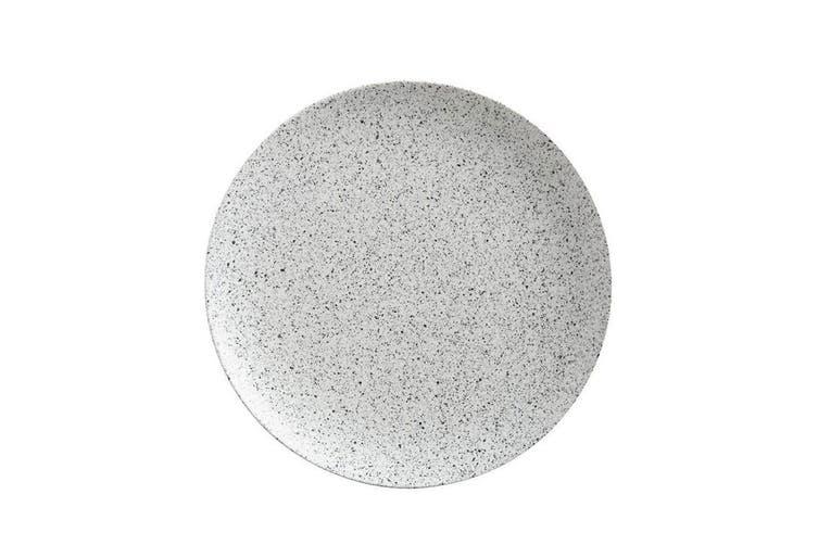 Maxwell & Williams 40cm Caviar Speckle Round Servingware Platter Dish Tray Cream