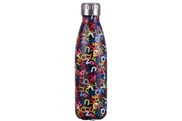 2x Avanti 500ml Water Vacuum Thermo Bottle 2 Wall Stainless Steel Cold Hot Drink