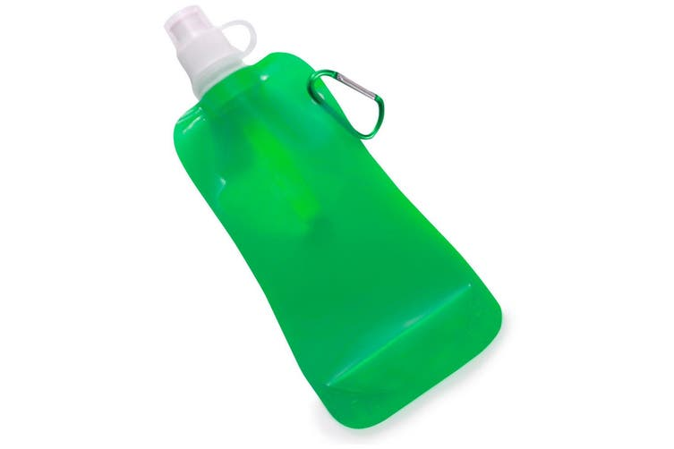 Doozie 450ml Collapsible Portable Water Drink Bottle Gym Sport Kids Adult Green