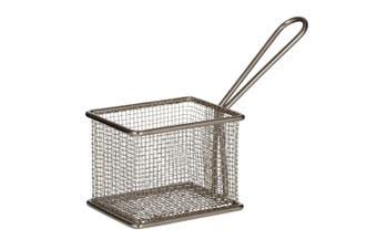 Davis & Waddell Taste Bistro Rectangular Serving Basket Small 9.5x8x7.5cm Metal