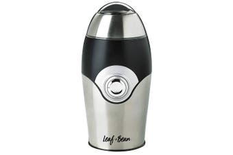Leaf & Bean 20cm Stainless Steel Electric Coffee Beans Spice Herbs Grinder Mill