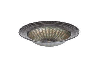 Anya Alondra 35x8cm Glass Round Bowl Home Kitchen Serving Food Storage Tableware